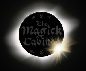 eclipse, witch, and witchcraft image