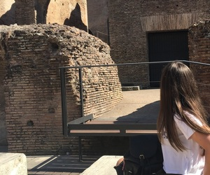 Coliseum, europe, and girl image
