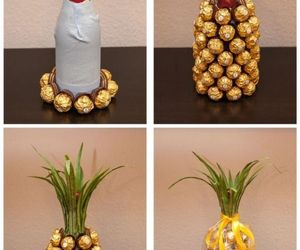 diy, gift, and pineapple image