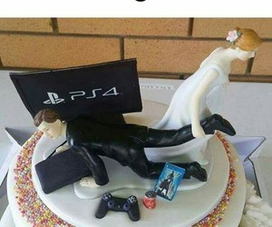 bride, funny, and gamer image