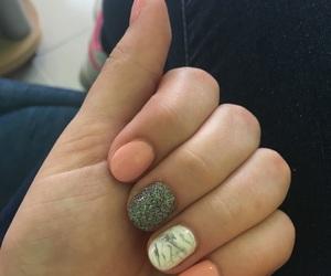 nails, marble, and babynails image