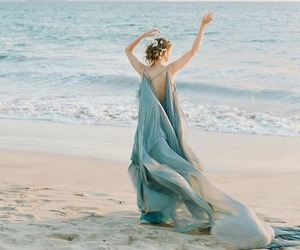 beach, glamour, and lace image