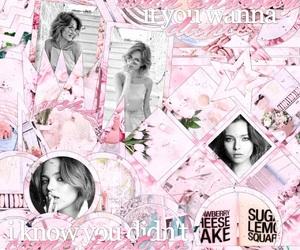 beautiful, editing, and pink image