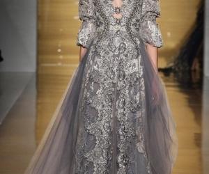 fashion, reem acra, and dress image