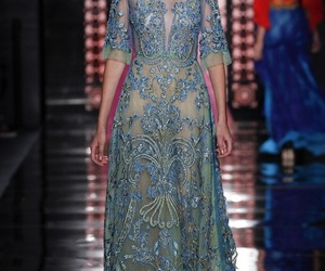 design, dress, and embroidered image