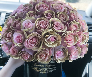 flowers, beautiful, and love image
