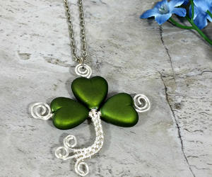 etsy, lucky clover, and three leaf clover image