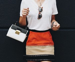 skirt, style, and blogger image