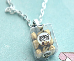 chocolates, miniature, and necklace image