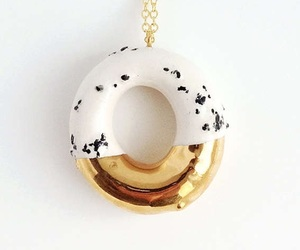 donut, jewellry, and necklace image