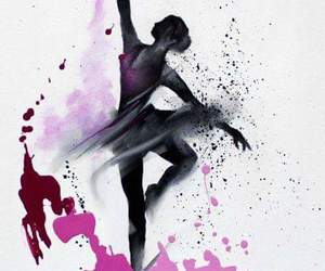 ballet, colors, and drawing image