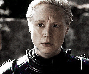 game of thrones, brienne of tarth, and gwendoline christie image