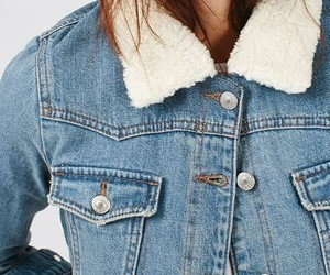 denim, denim jacket, and jeans image