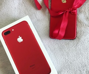 apple, gift, and iphone image