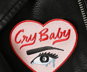 cry baby, tumblr, and grunge image