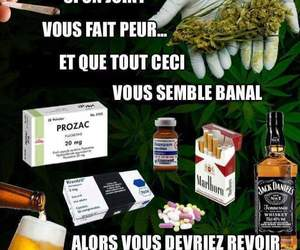 alcool, cigarette, and francais image