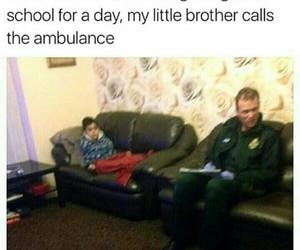 911, ambulance, and family image