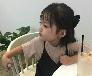 asian baby, korean baby, and kwon yuli image