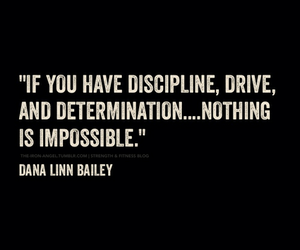 quote, determination, and motivation image