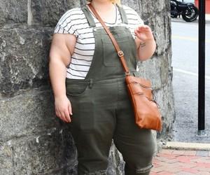 bag, fashion, and overalls image