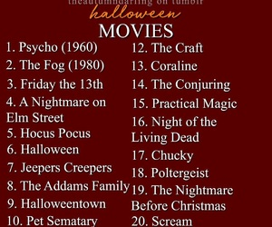Halloween and movies image