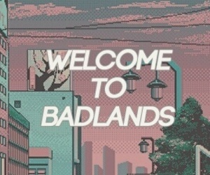 badlands, music, and pink image