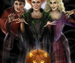 witch, Halloween, and hocus pocus image