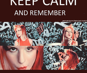 paramore, keep calm, and misery business image