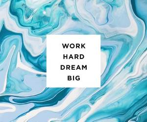 work hard dream big image