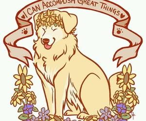 inspirational, doggo, and love yourself image