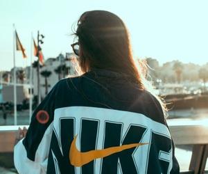 jacket, tumblr, and nike image