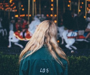 girl, blonde, and los angeles image