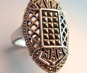 art deco, ring, and vintage image