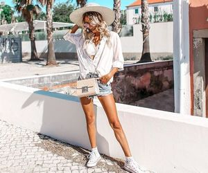 blogger, boho, and outfit image