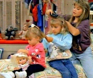 full house, girls, and sisters image