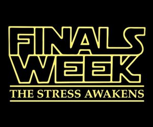 quotes, star wars, and finals week image