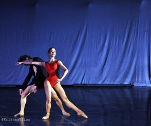 ballerina, pointe, and love image