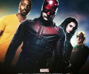 daredevil, Marvel, and poster image