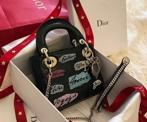 bags, dior, and travel image