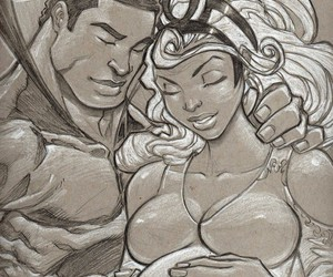 black panther, Marvel, and comics image