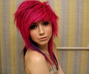 girl, pink hair, and cute image