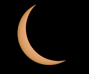 eclipse, galaxy, and moon image