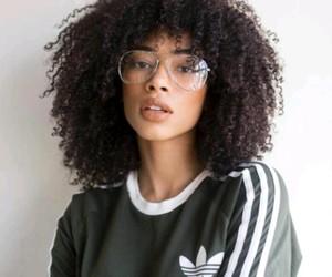 beautiful, glasses, and adidas shirt image