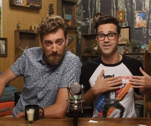 link neal, rhett mclaughlin, and good mythical morning image