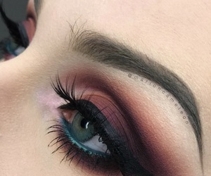 beauty, bloggers, and burgundy image