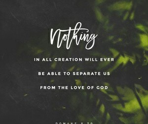 god, love, and bible verse image