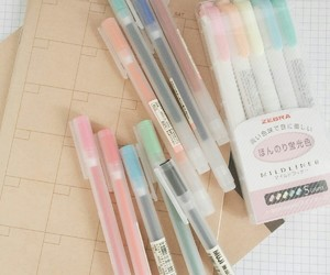 school, stationery, and book image