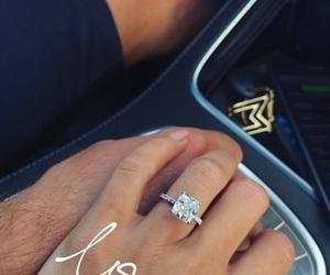 diamond, engaged, and football image