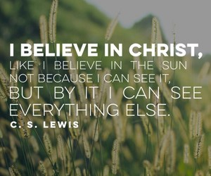 faith and jesus image