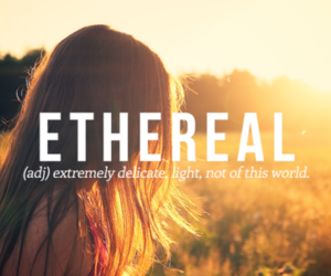 words, ethereal, and word image
